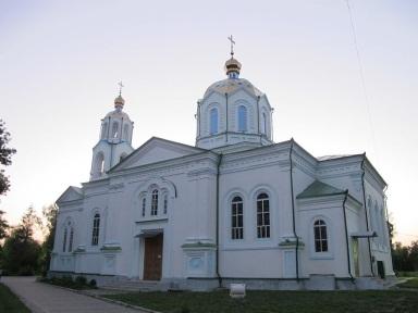 Описание: Файл: Церковь Успения Пресвятой Богородицы в Миргороде 02.JPG