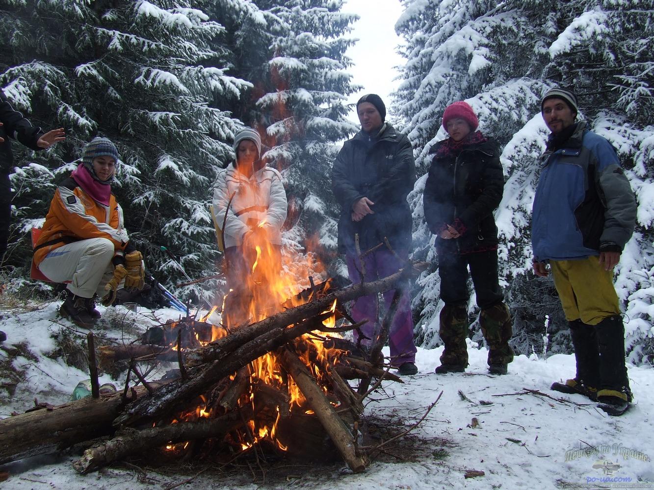 картинки туристов зимой запросу
